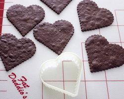 Choco cut out cookies