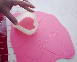 Cout out fondant